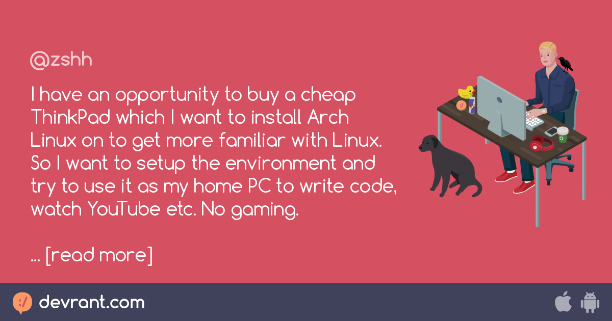 linux - I have an opportunity to buy a cheap ThinkPad which