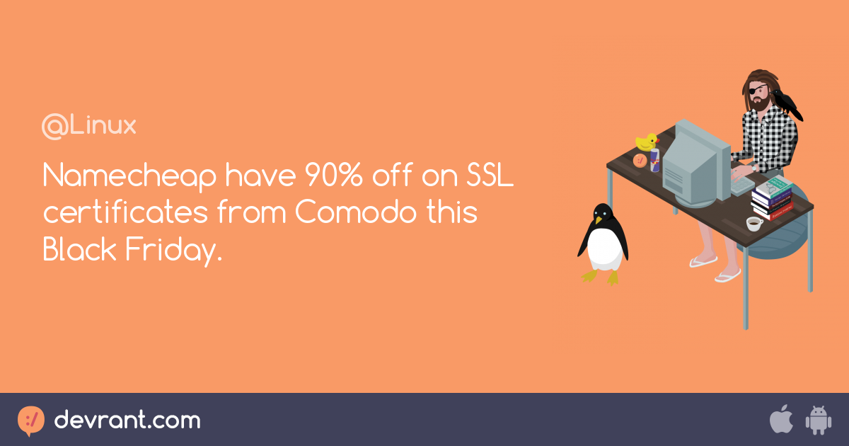 Namecheap Have 90 Off On Ssl Certificates From Comodo This Black
