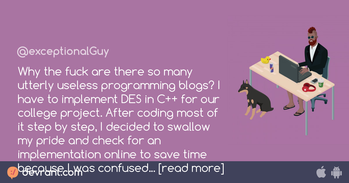 bad code - Why the fuck are there so many utterly useless