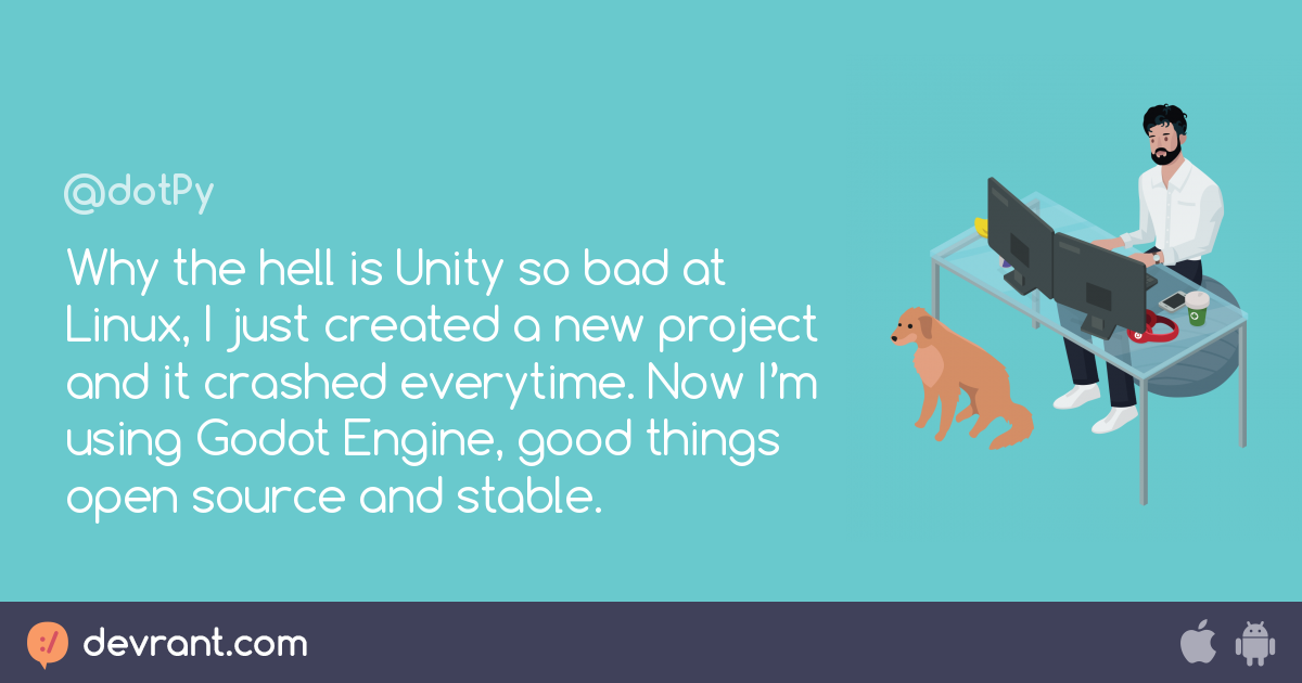 software company should support linux - Why the hell is Unity so bad