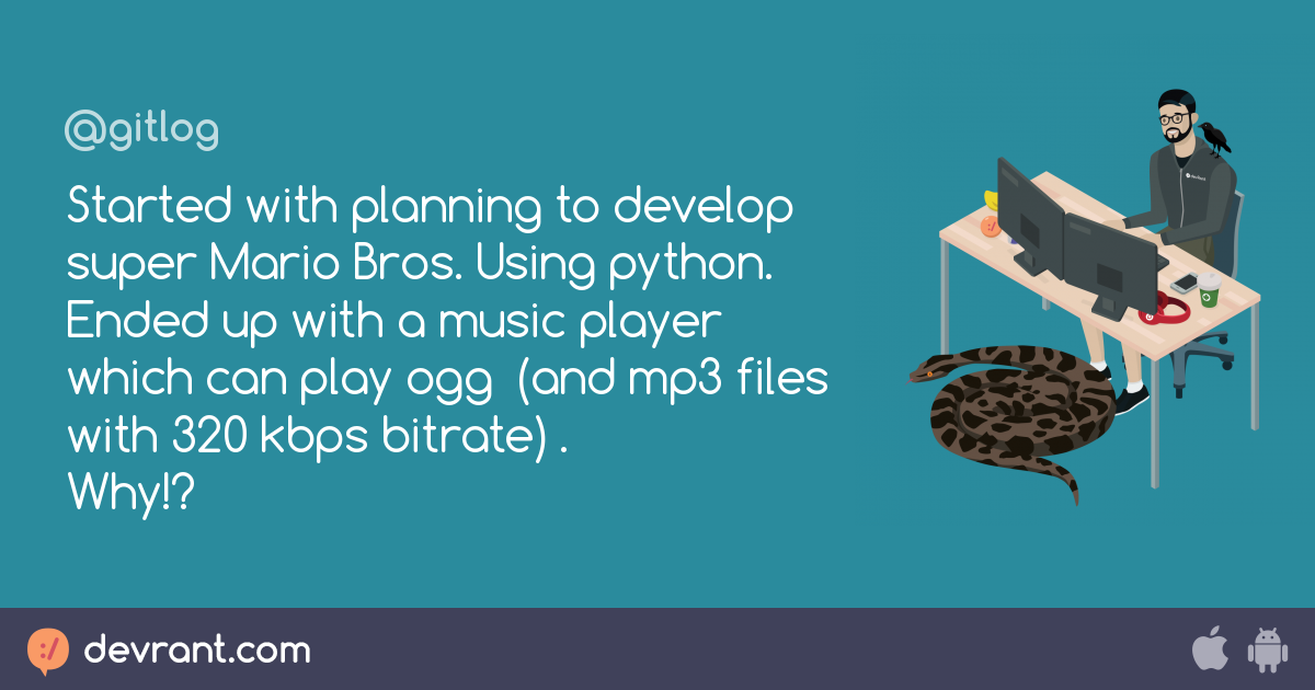 music player - Started with planning to develop super Mario Bros