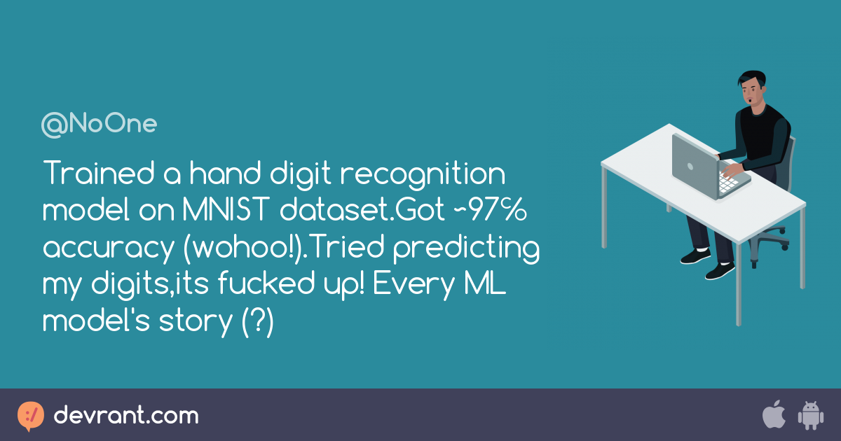 deep learning - Trained a hand digit recognition model on MNIST
