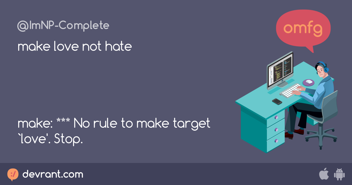 make: *** no rule to make target