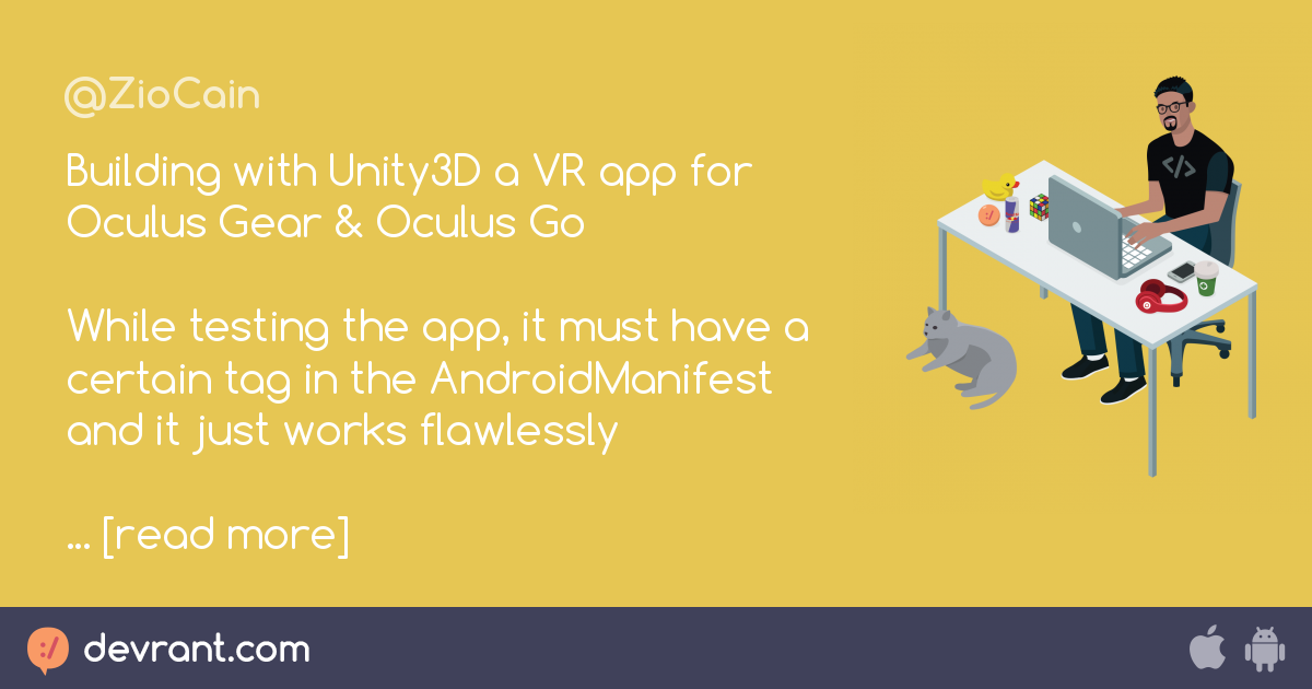 oculus - Building with Unity3D a VR app for Oculus Gear