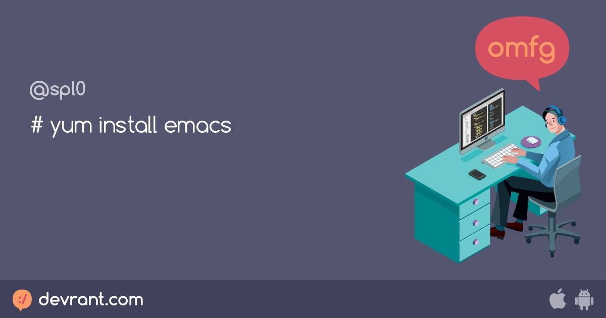 install emacs without yum