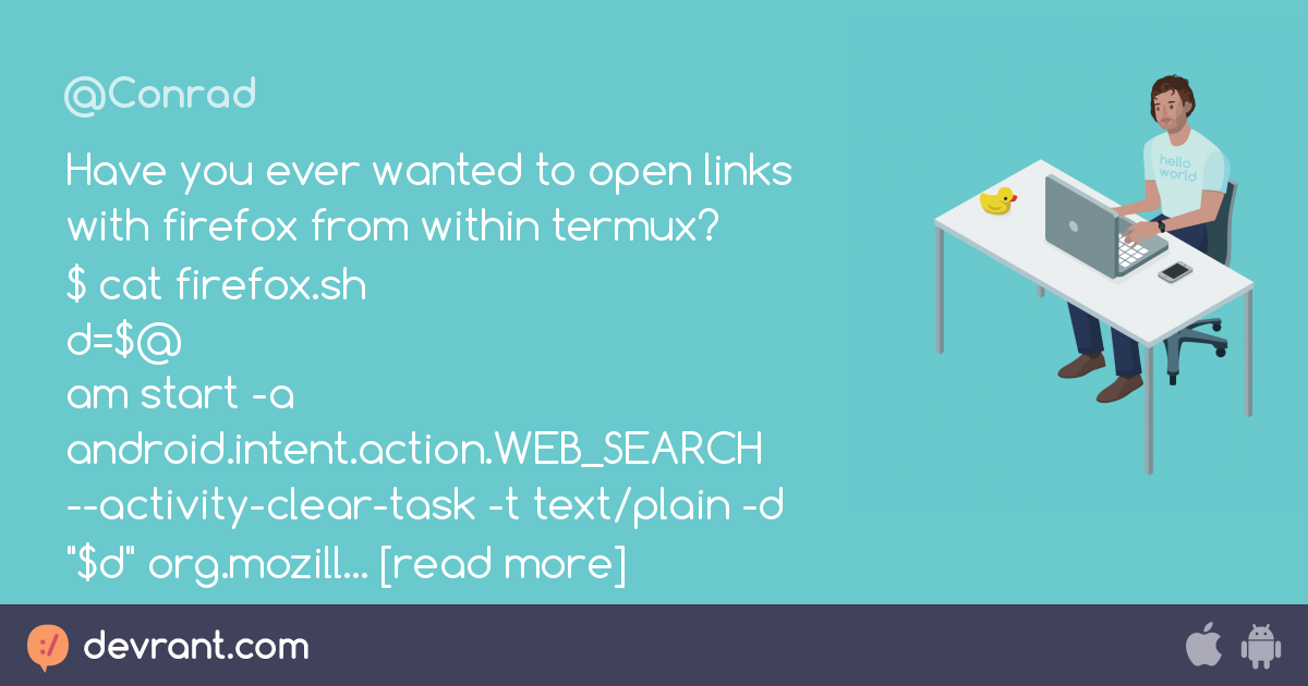 firefox - Have you ever wanted to open links with firefox