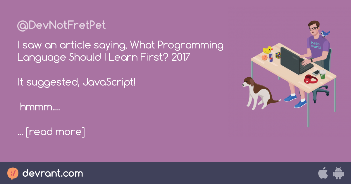 What Programming Language to Learn First? - Daily Blog Tips