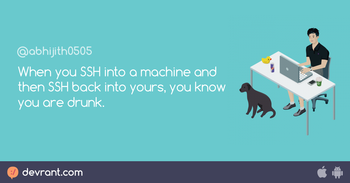 ssh into machine