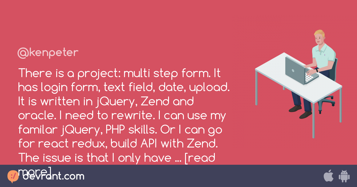 There is a project: multi step form  It has login form, text field