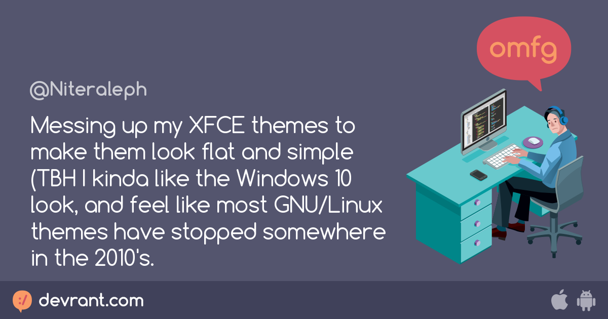 Messing up my XFCE themes to make them look flat and simple